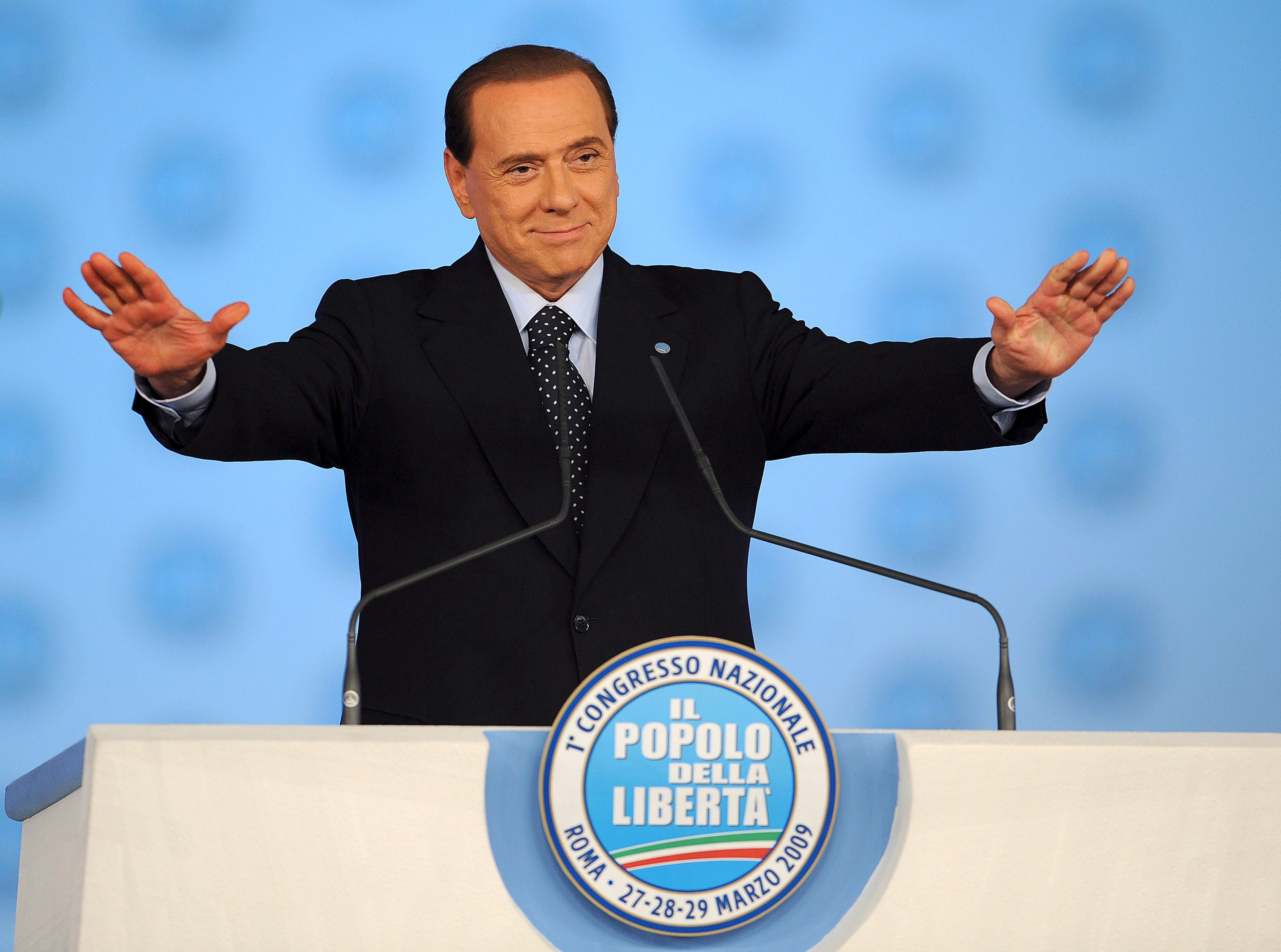 Berlusconi address