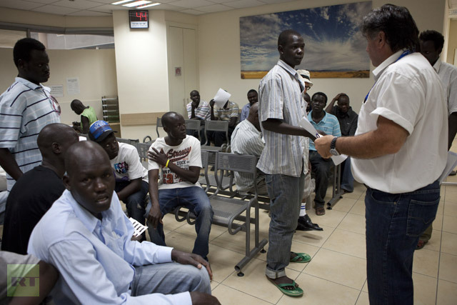 ISRAEL-IMMIGRATION-AFRICA-SSUDAN-ARREST
