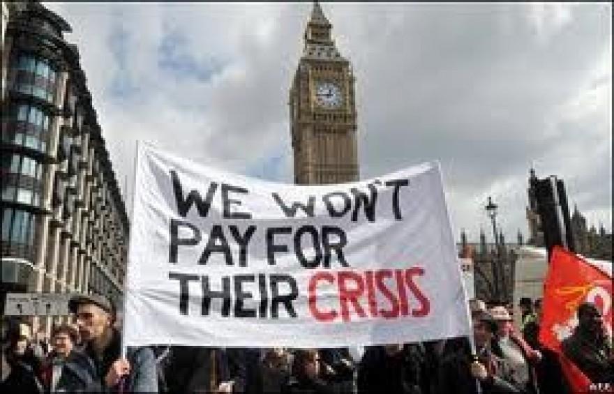 manifestazione londra tagli pensioni
