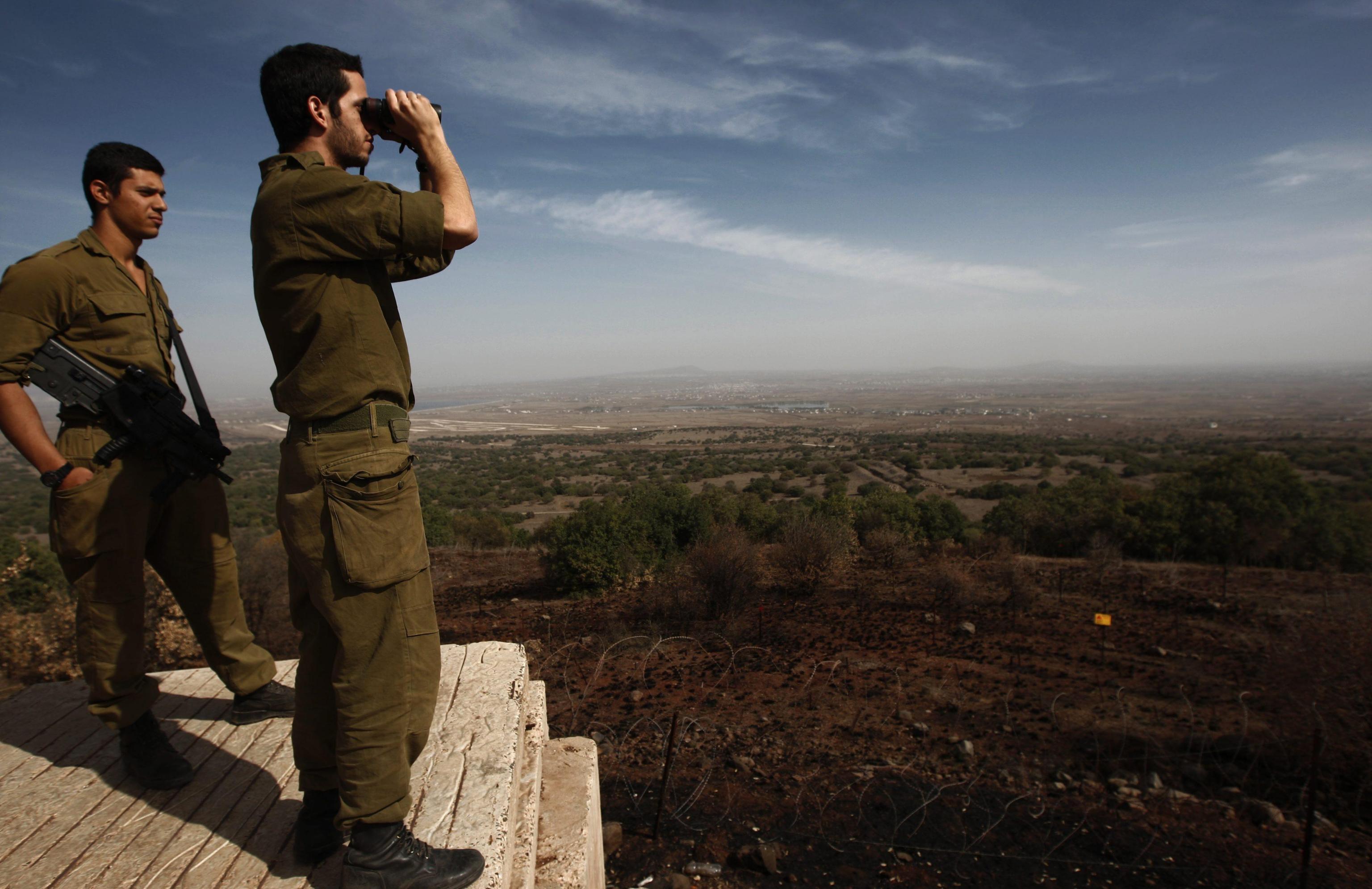 SIRIA:ACCORDO OPPOSIZIONI DOHA,PRIMI COLPI DA ISRAELE DAL '73