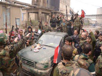 siria army